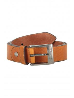 Belt-of-buffalo-leather---cognac-plain