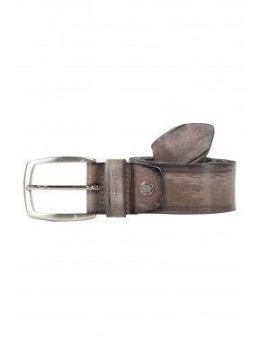 Belt-with-a-nickel-free-buckle---medium-grey-plain
