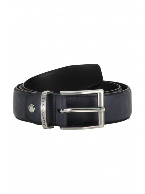 Belt-of-ranger-leather---navy-plain