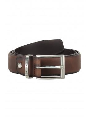 Belt-of-ranger-leather---dark-brown-plain