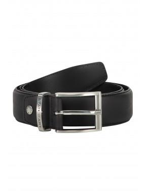Belt-of-ranger-leather---black-plain