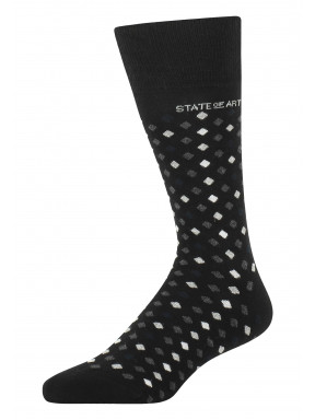 Socks-jacquard-with-a-brand-logo