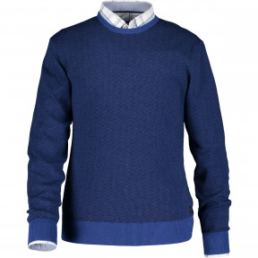 Pullover-jacquard-made-of-cotton