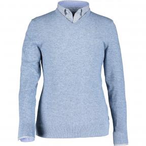 Pullover-reguar-fit-with-V-neck