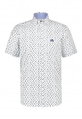 Overhemd-met-een-geometrische-print