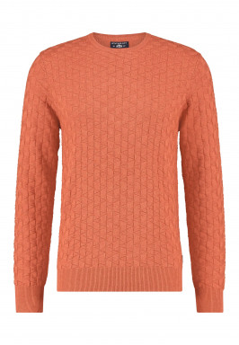 Pullover-plain-with-crew-neck