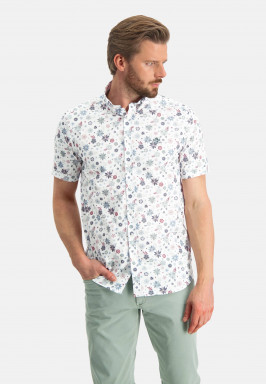Poplin-overhemd-met-bloemenprint