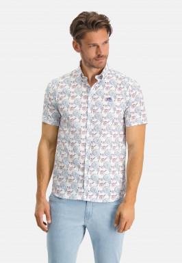 Bedrukt-overhemd-met-button-down