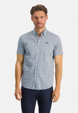 Overhemd-van-katoen-stretch