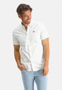 Oxford-overhemd-van-stretch-katoen