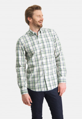 Cotton-shirt-with-checked-pattern