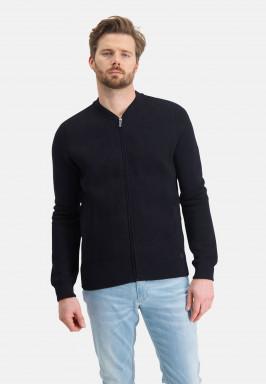 Cardigan-Plain-with-zipper