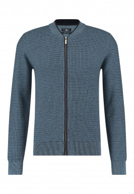 Cardigan-with-structure-knit