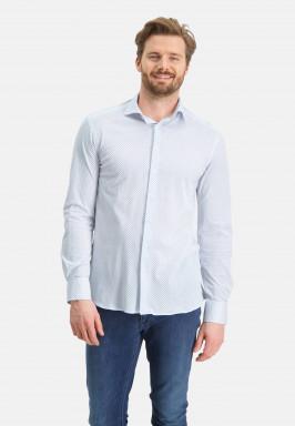 Overhemd-met-een-fijne-print
