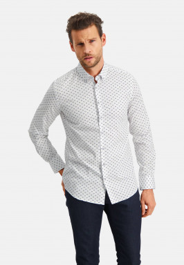 Modern-Classics-shirt-with-herringbone-print