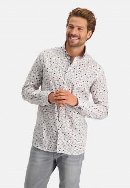 Poplin-overhemd-van-katoen-stretch