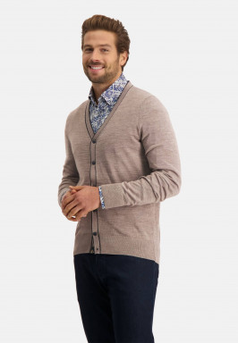 Cardigan-with-a-v-neck