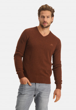 Pullover-made-of-merino-lambswool