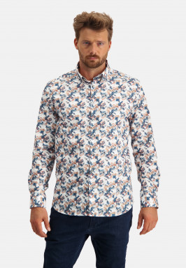 Shirt-made-of-cotton-with-stretch