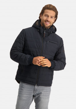 Jacket-with-detachable-hood-and-zipper-closure
