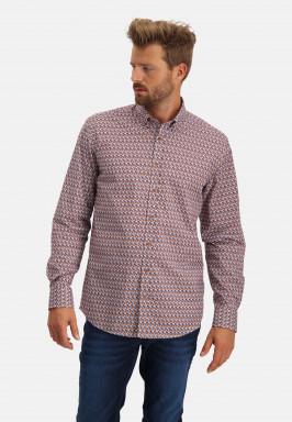 Overhemd-van-stretch-katoen