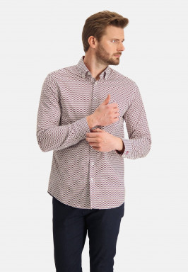 Shirt-with-dot-print