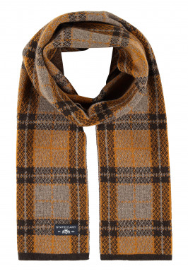Jacquard-knitted-scarf-with-print