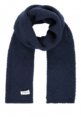 Modern-Classics-scarf-with-logo-appliqué