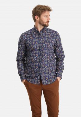 Overhemd-met-bloemenprint