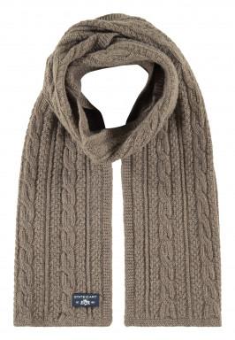 Kabelgebreide-sjaal