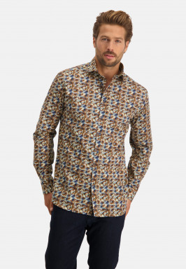 Poplin-overhemd-met-print