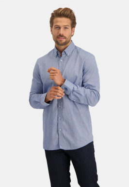 Hemd,-Oxford,-Baumwoll-Stretch