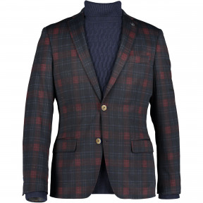 Blazer-Checked-with-2-button-closure