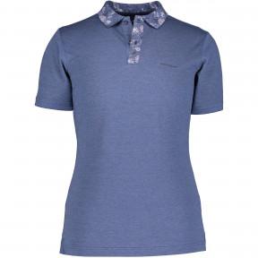 Poloshirt-with-a-flower-collar