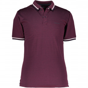 Poloshirt-made-of-bi-colour-cotton