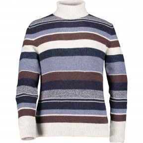 Pullover-striped-with-turtleneck