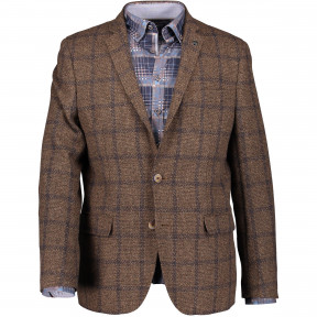 Blazer-checked-with-slim-fit