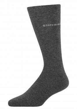 Effen-sokken-van-een-katoenmix