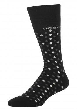Jacquard-sokken-met-een-ruitpatroon