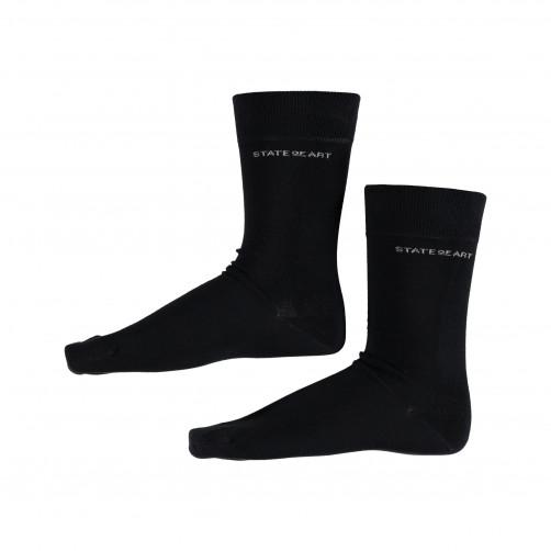 Socken,-uni---dunkelblau-uni