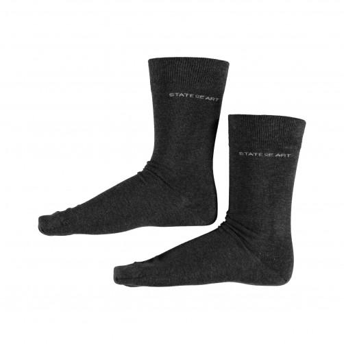 Socks-Plain---dark-anthracite-plain