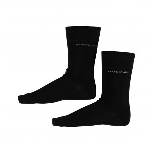 Socks-Plain---black-plain