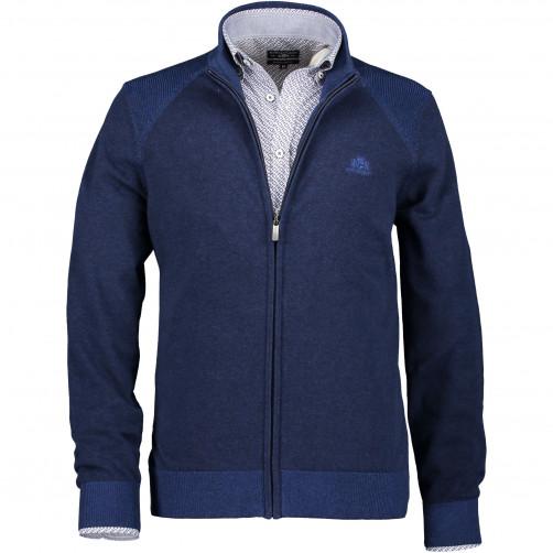 Cardigan-coton-with-zipper