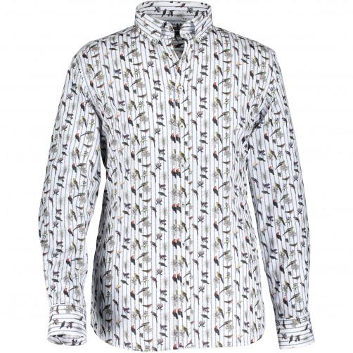 Shirt-with-bird-print