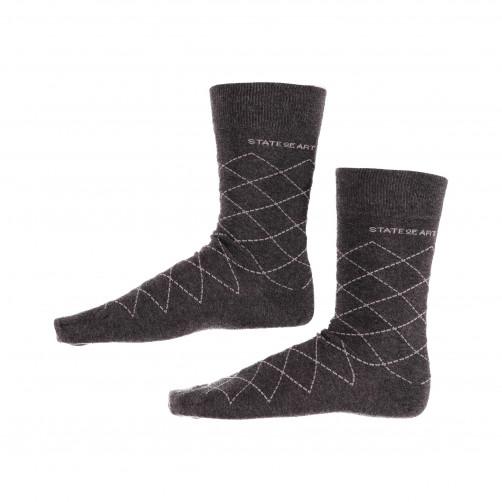Socken,-kariert