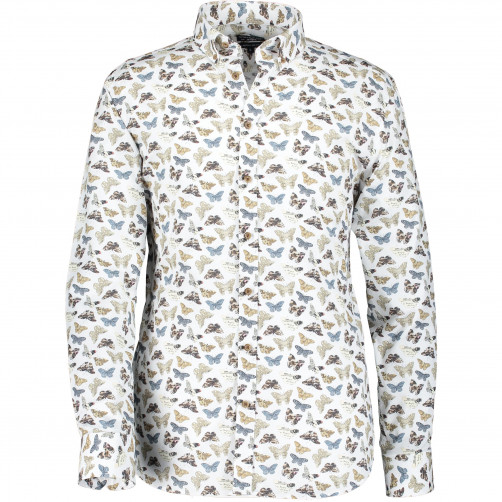 Shirt-with-a-butterfly-print