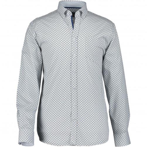 Chemise-manches-longues-à-imprimé