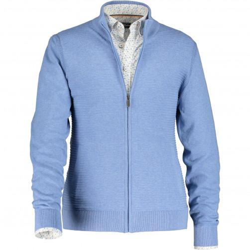 Cardigan-melange-made-of-cotton