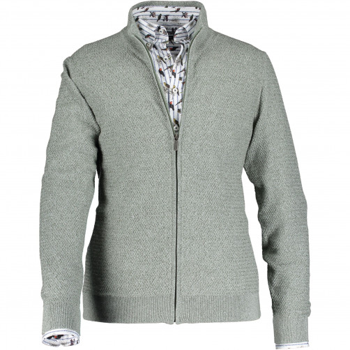 Cardigan-with-regular-fit-and-zipper