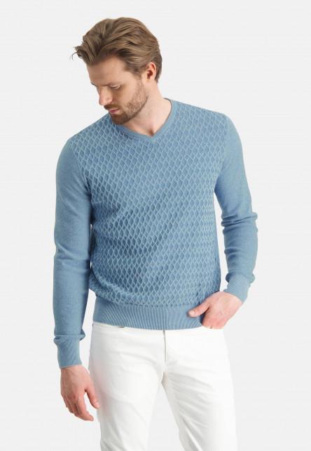 Pullover-V-Neck-Plain